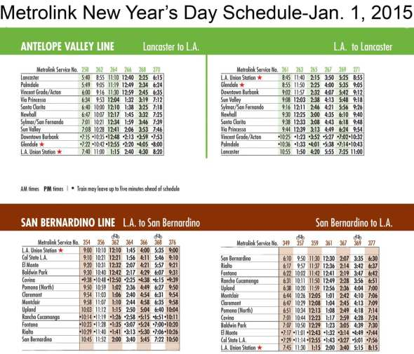 NewYearsDay2015schedule