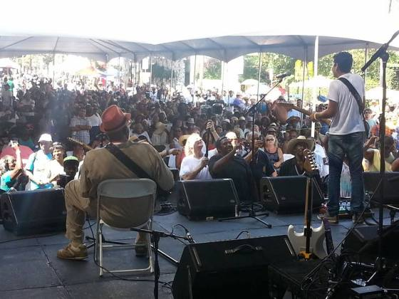 View from the stage at last year's festival. (CAJF Facebook page)