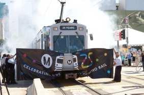 Metro Rail 25th Anniversary. Photo: Gary Leonard/Metro