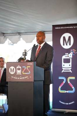 Metro CEO Phil Washington. Photo: Peter Watkinson/Metro