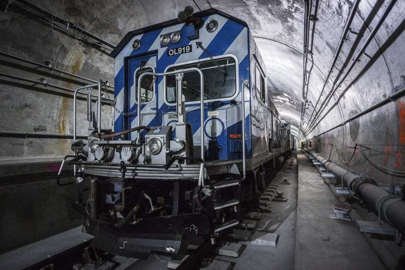 Work on the new Second Avenue subway in Manhattan. Photo: New York MTA.