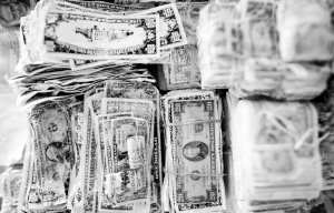 The proverbial pile of money many renters in our region need each month. Photo: Thomas Hawk, via Flickr creative commons.