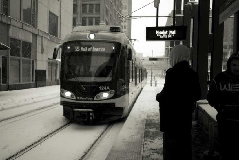Brrrr. But transit and ride-sharing costs are now linked in the Twin Cities. Photo by Ernesto De Quesada, via Flickr creative commons.