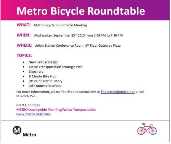 Bicycle Roundtable