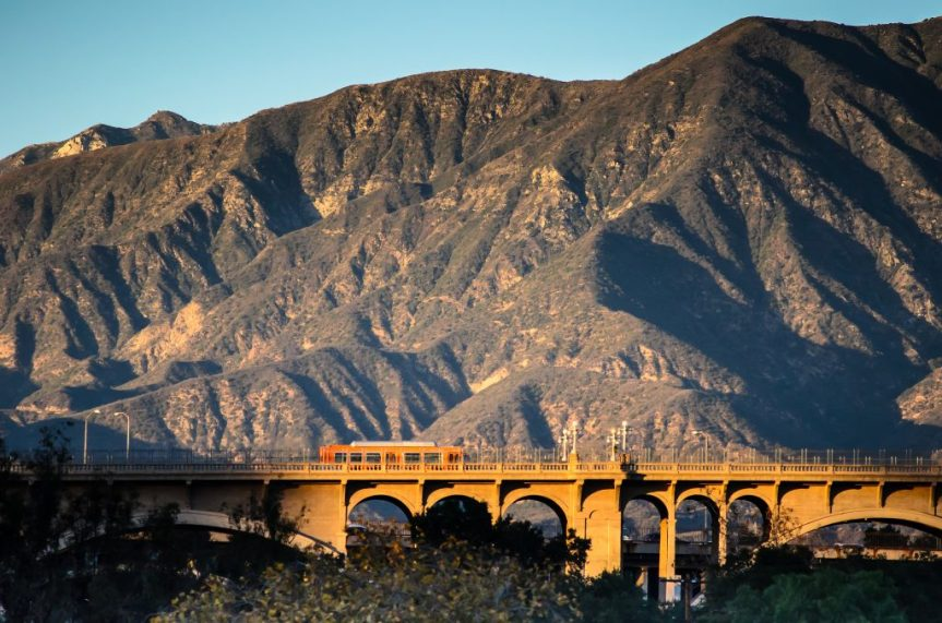 The Colorado Street Bridge in Pasadena. Photo by Steve Hymon/Metro.