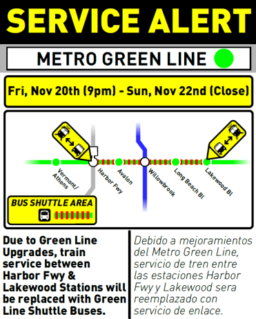 green line sign