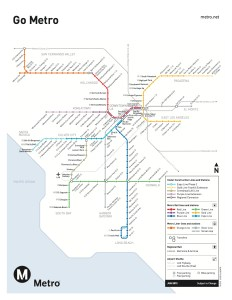 Click to see full size. The rail transit network in L.A. is expanding thanks to Measure R.