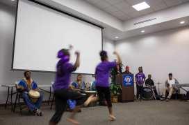 Performers from Lula Washington Dance Theatre. Photo: Joseph Lemon / Metro