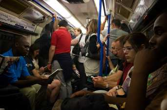 The London Tube. Photo by Alexander Montuschi, via Flickr creative commons.