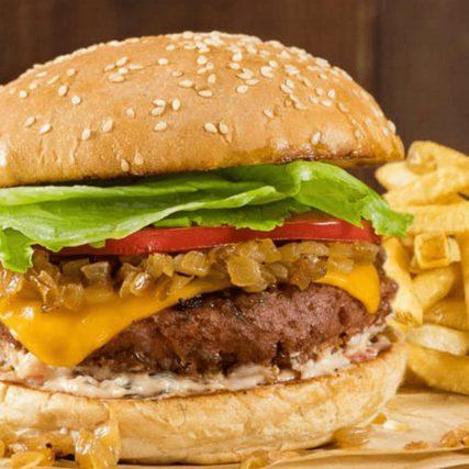 The VG Beyond Burger.