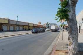 Looking north on Van Nuys Boulevard in Panorama City.