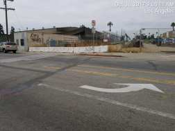 The future Fairview Heights Station in Inglewood.