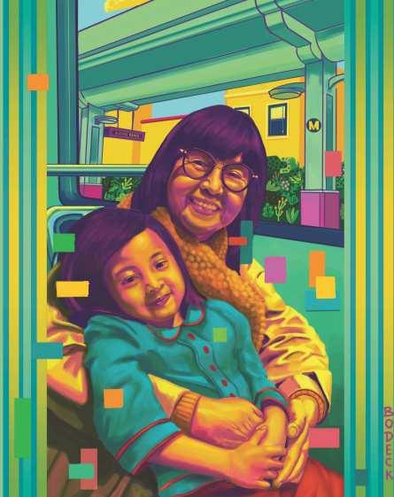 Bodeck Luna Hernandez, Legacy, 2019, digital print.