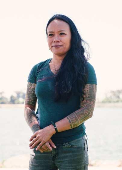 Portrait of artist Jazmine Atienza, provided by Sam Lee.