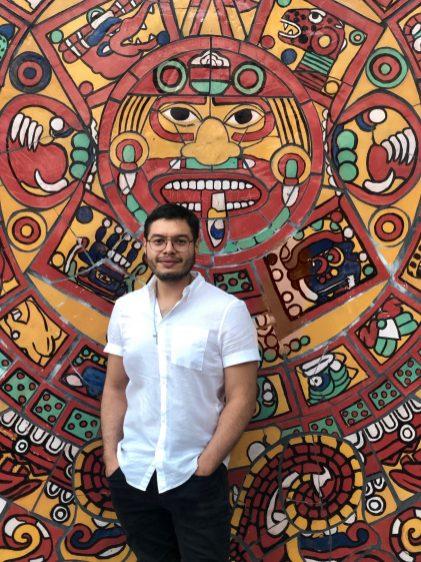 Artist, writer and architectural designer Albert Orozco