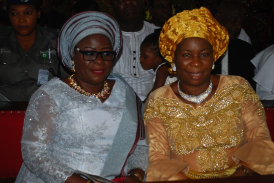 Mrs. Yetunde Onanuga, deputy governor of Ogun State and Mrs. Florence Uche Kanu