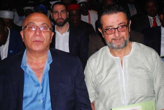 Mr. Ali Safa and Mr. Samih Takih