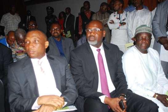 Mr. Tunji Bello, Mr. Musa Kida and Dr .Rafiu Ladipo