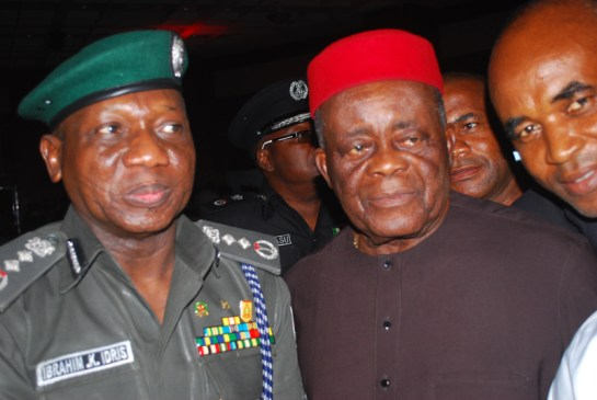 Mr Ibrahim Idris and Chief Vincent Obianodo