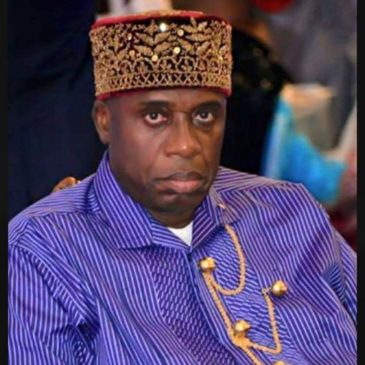 Rotimi Amaechi: leader of APC in Rivers state and Minister of Transport