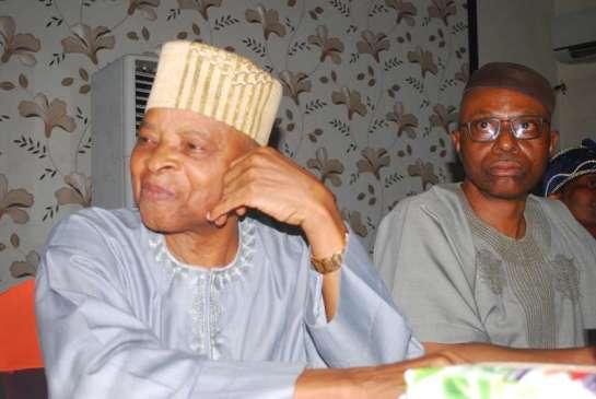 Gen Alani Akinrinade ( rtd ) and Dr. Segun Mimiko