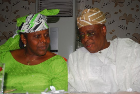 Mrs.Dosunmu Awolowo and Chief Segun Osoba
