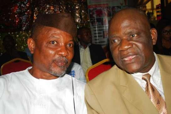 Mr. Sina Adeyemo and Doyin Ogungbe