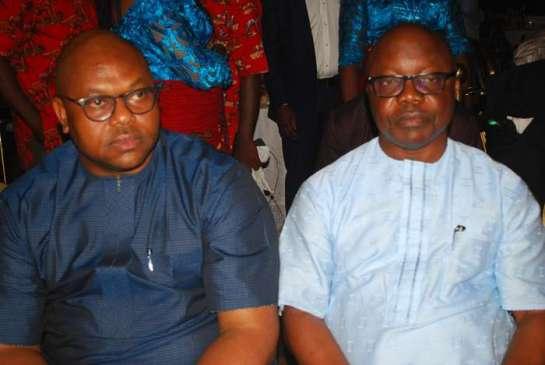 Rt. Hon.Victor Ochie and Emmanuel Uduaghan