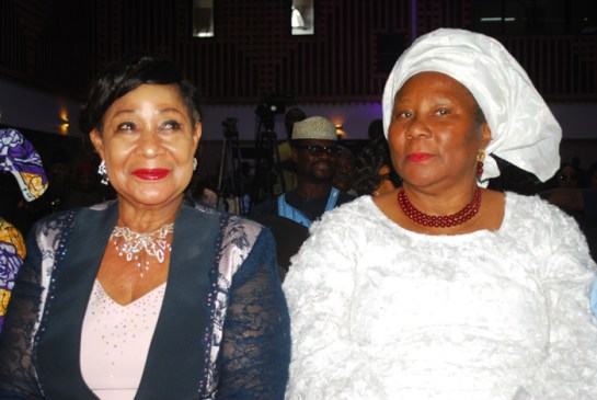 Chief Nike Akande and Mrs Josephine Anenih