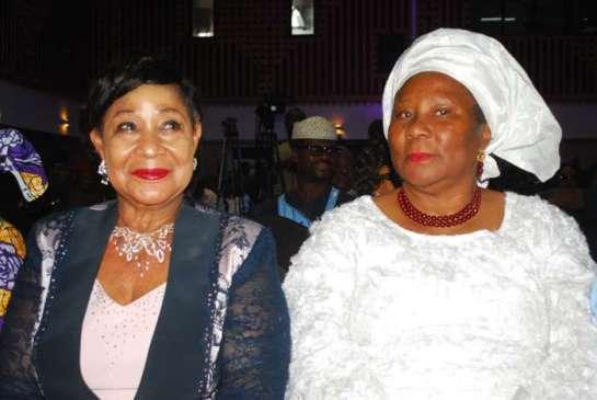 Chief Nike Akande and Mrs Josephine Anenih