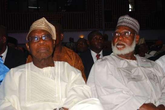 Chief Olusegun Obasanjo ang General Abdulsalami Abubakar