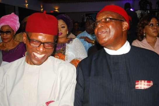 Mr Emeka Ugwu -oJU and Chief John Nwodo
