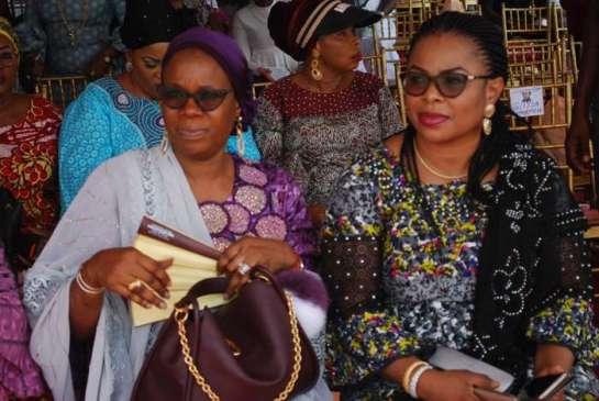 Princess Olabisi Adebanjo and Princess Rashida Adu
