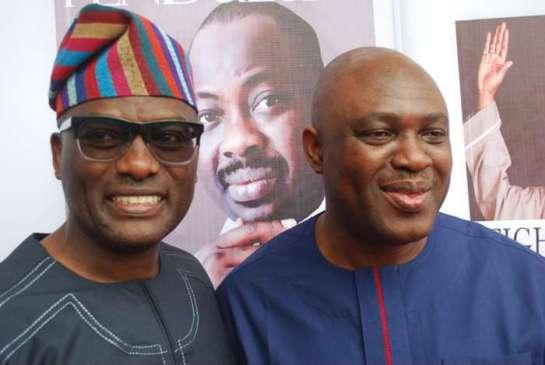 Otunba Dayo Adeneye and Mr.Bode Opeshitan
