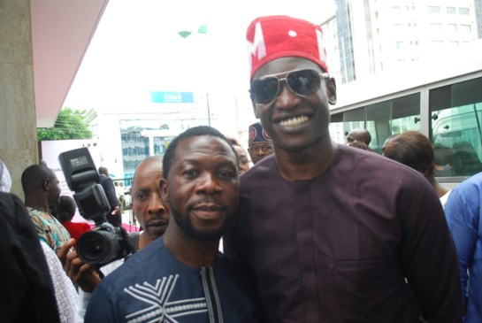 Pastor Oladele Ogundipe and Mr. Abdul Mumuni Abiola
