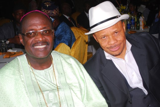 Bishop Adebayo Babalola and Barr. Akpan Udofia
