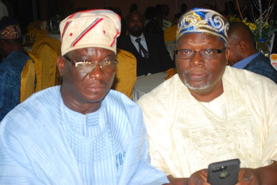 Hon.Akeem Bello and Mr. Niyi Ojutiku