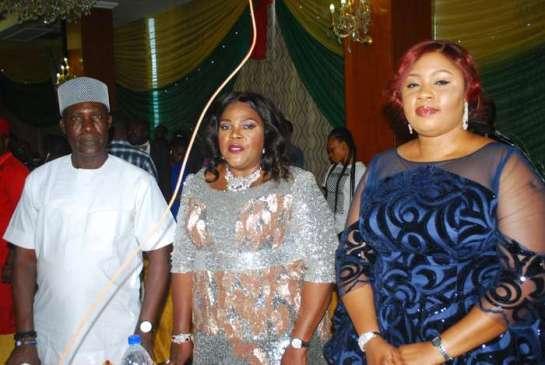 Hon.Charles Obih,Princess Goziem Ugochukwu and Mrs Bolatito Obaigbo