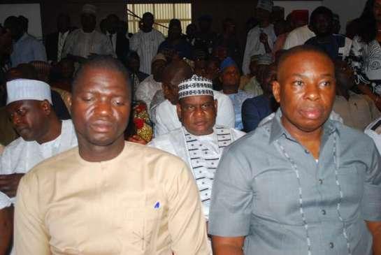 RT.HON.Francis Ogbonna Nwifuru and RT.HON.(Barr)Chikwendu Kalu