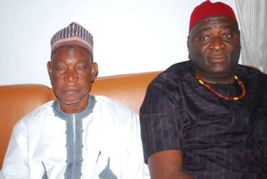 RT. HON.Isamaila Abdulmumin Kamba and RT.HON.Edward Ubosi