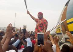 Uzodinma Arrives Owerri, Denies Being Arrested