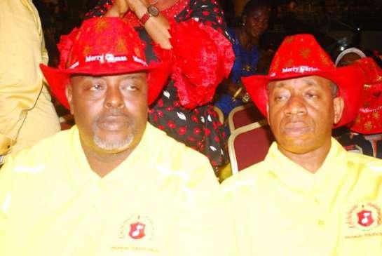 Mr. Alawiye Kings and Mr.Tijani Olusi