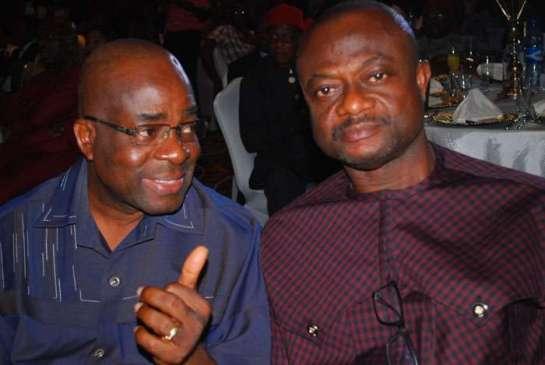 Nze Basil E.Osuokwu and Chief James Uduji