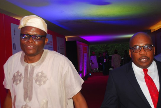 Mr. Eniola Bello and Mr.Eric Osagie
