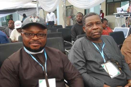 Chief Ifeanyi Chukwu and Mr.Bayo Soyannwo