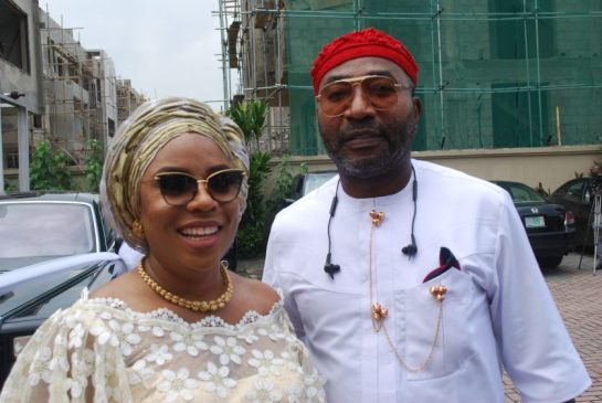 Mrs Ogadi Onyema and her husband Tony