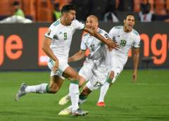 Algeria Rules Africa, Breaks 29 Years Jinx