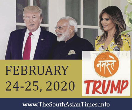 Trump's Great India Show,  Directed by PM Modi