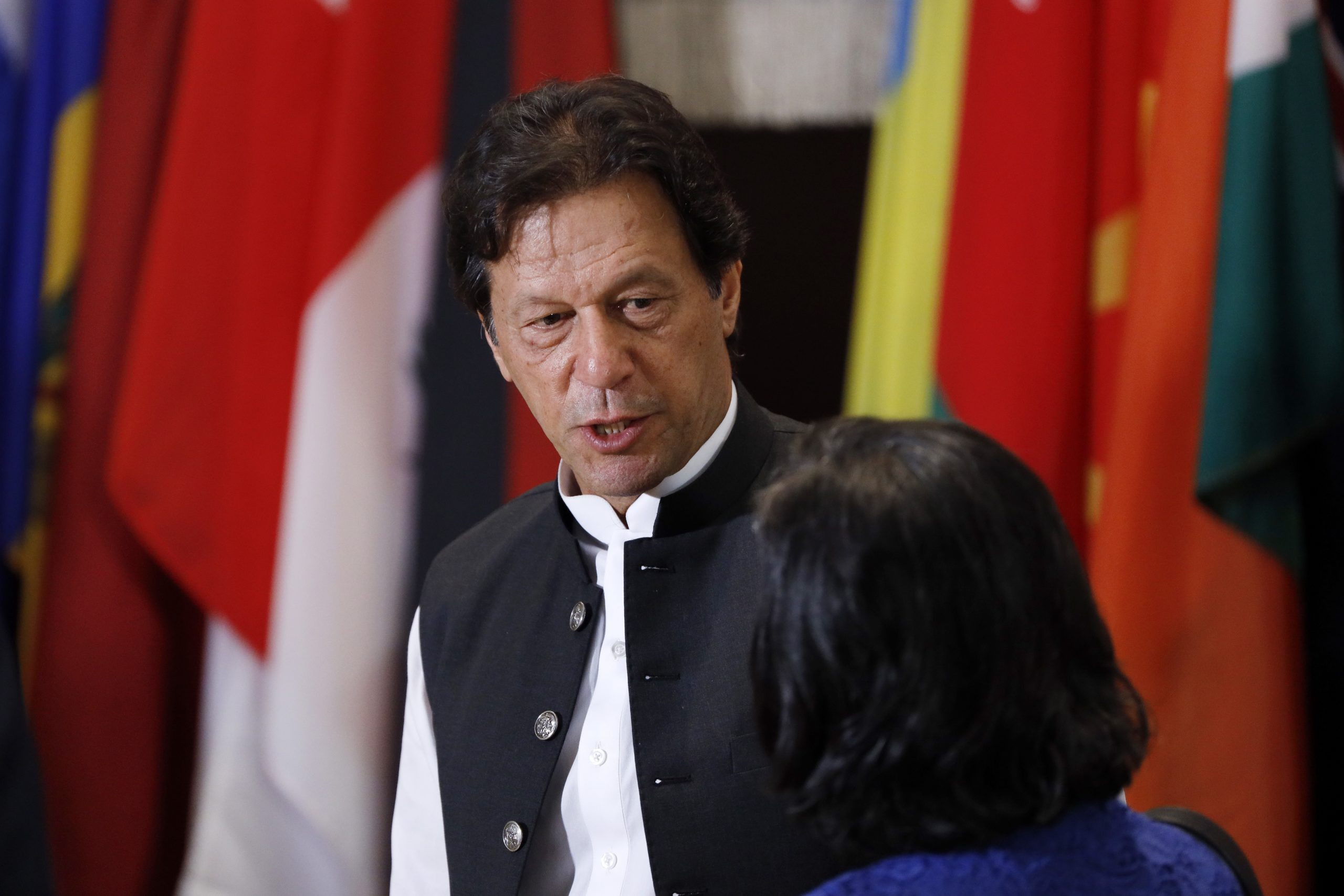 Pakistan PM Imran Khan said the government was closely monitoring the COVID-19 situation.