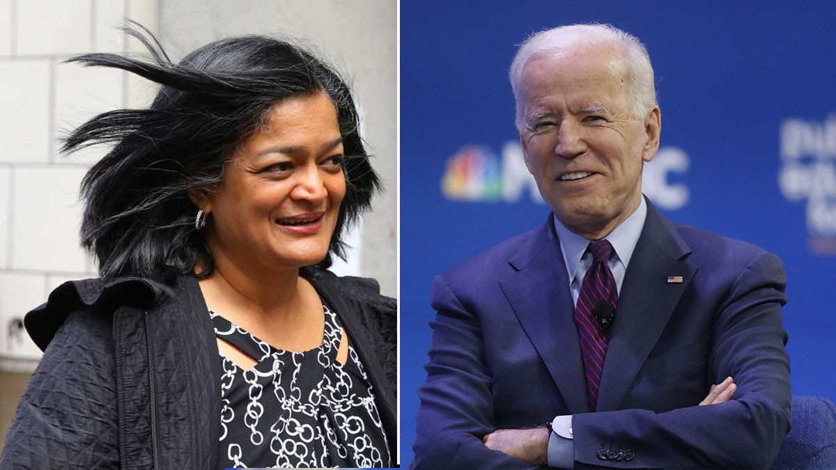 Congresswoman Pramila Jayapal said Joe Biden is deeply dedicated public servant